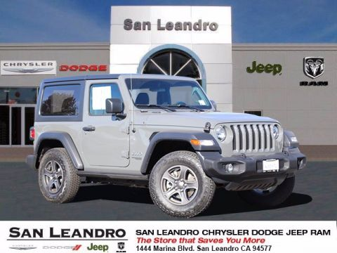 Pre-Owned 2018 Jeep Wrangler Sport S 4WD Convertible