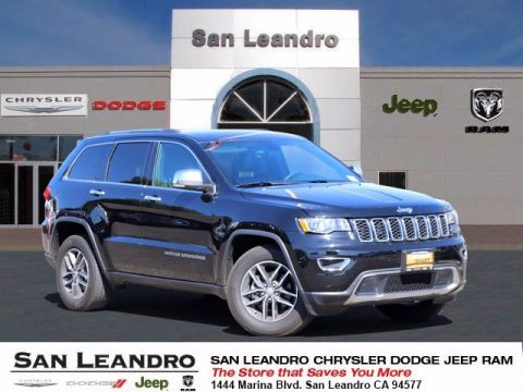 Pre-Owned 2017 Jeep Grand Cherokee Limited RWD Sport Utility
