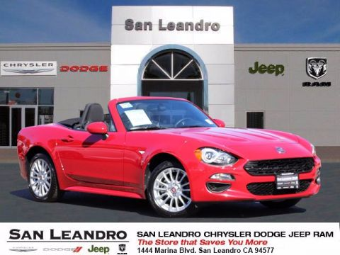 Pre-Owned 2018 FIAT 124 Spider Classica RWD Convertible